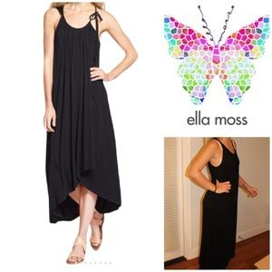 Ella Moss Bella Faux-Wrap Dress High Low NWT